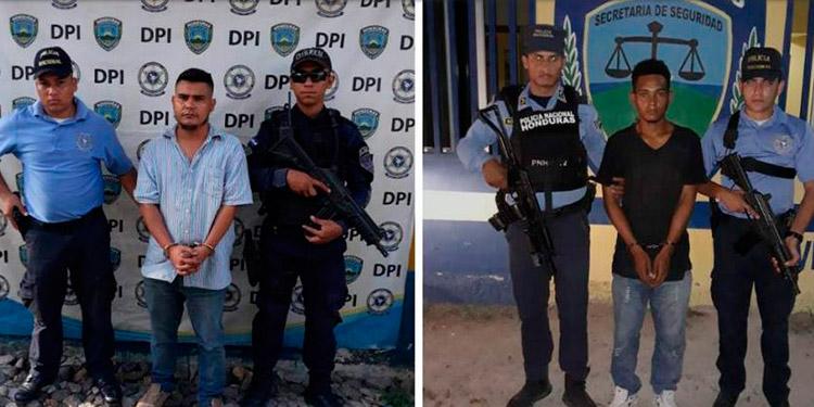 Dos de los acusados y ahora sentenciados fueron detenidos el 10 de junio del 2019, en Pilas Abajo, Choloma, Cortés.