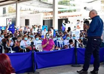 Mauricio Oliva reiteró que aspira a hacer las grandes transformaciones que Honduras necesita.