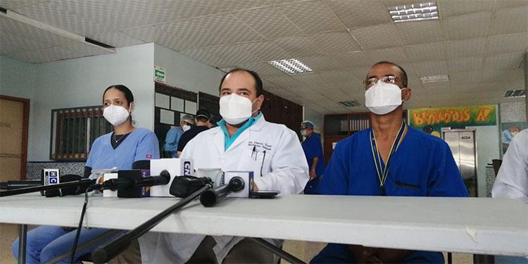 Las autoridades del HEU informaron que en el hospital móvil de Tegucigalpa ya no se atenderá a los pacientes con COVID-19.