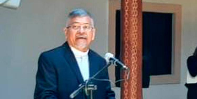 Obispo José Antonio Canales.