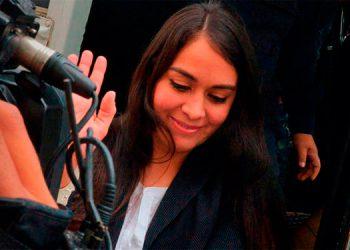 """Molina Aguirre al salir en libertad y darse cuenta de la decisión dijo que """"es una victoria de Dios""""."""
