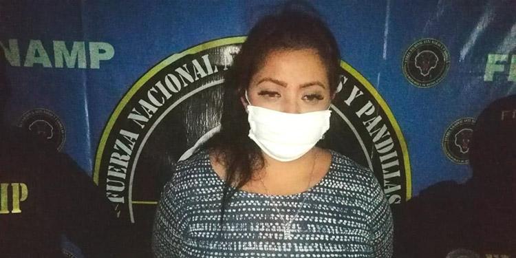 Maybelin Elizabeth Avilés Martínez fue capturada en la colonia Kennedy, con marihuana lista para la venta.