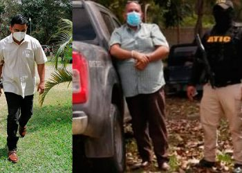 Elvin Neptaly Paguada y Herlis Omar Aguilar quedaron con la medida de prisión preventiva.