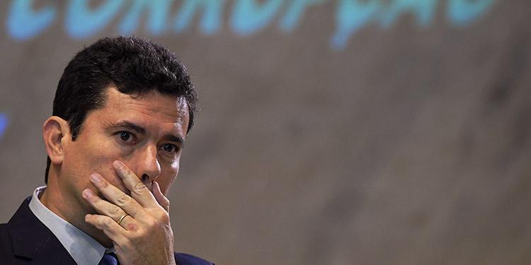 """El exjuez Sergio Moro defendió su actuación al frente de la megaoperación anticorrupción Lava Jato, un día después de que la corte suprema de Brasil lo declarara """"parcial"""" en la condena que dictó contra Lula da Silva. (LASSERFOTO AFP)"""