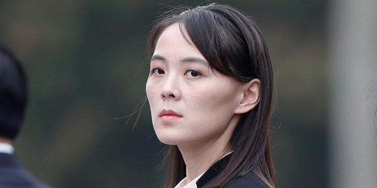 Kim Yo-jong.   (LASSERFOTO EFE)