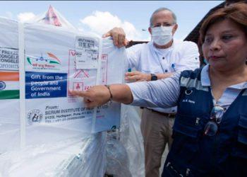 Nicaragua recibió el domingo 200,000 vacunas contra la COVID-19, específicamente la Covishield, producida por la farmacéutica AstraZeneca.
