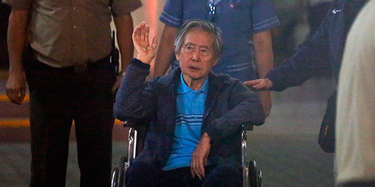 Alberto Fujimori. (LASSERFOTO EFE)