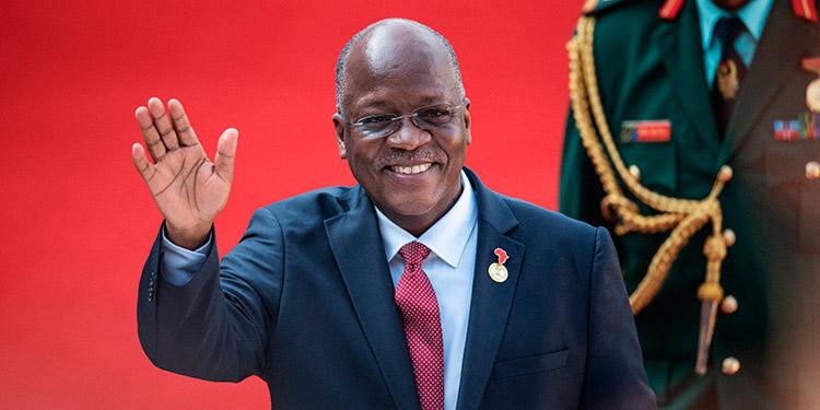 John Magufuli. (LASSERFOTO AFP)