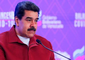 El presidente de Venezuela, Nicolás Maduro, anunció la presencia en el país de la variante brasileña de COVID-19. (LASSERFOTO EFE)
