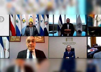 En la reunión inaugurada por el BCH participaron los presidentes de los bancos centrales de la región.