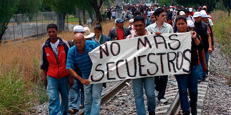 Se reporta un incremento en el secuestro de hondureños migrantes en México.