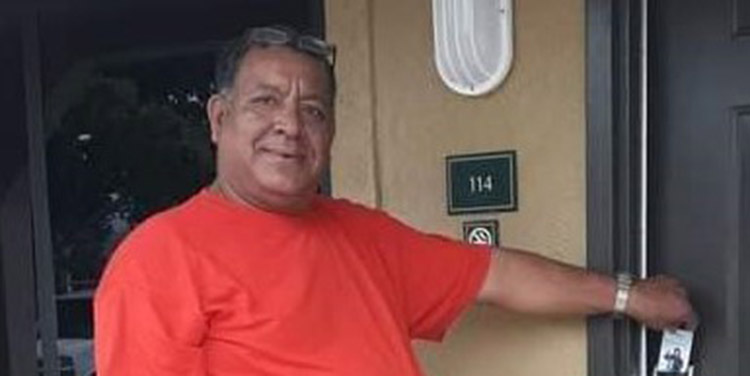 Víctor Alvarado en vida.