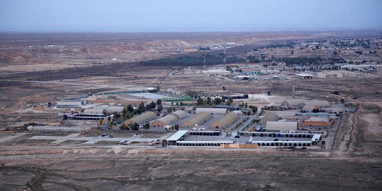 Fuerzas EEUU: Cohetes golpean base iraquí con tropas de EEUU