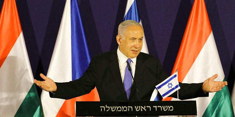 Netanyahu dice canceló viaje a Emiratos por amenazas