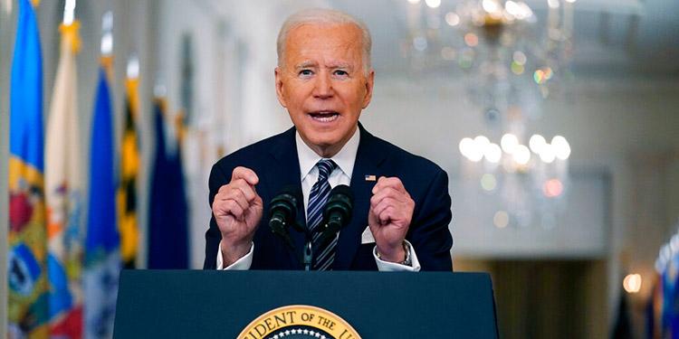 Biden: Que todo adulto sea elegible a vacuna para 1 de mayo