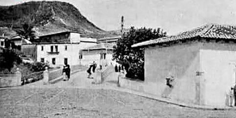 El puente Mallol inaugurado en 1821.