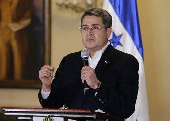 Juan Orlando Hernández.