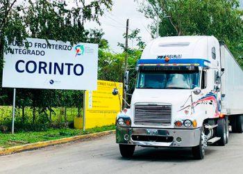 Paso fronterizo de Corinto se reduce de 3 horas a 10 minutos desde implementación de la Declaración Anticipada de Mercancías