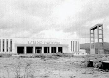 1 El Estadio Nacional de Tegucigalpa al pie del Juana Lainez.