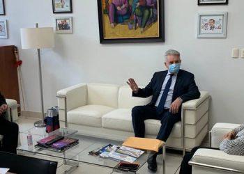 """Una reunión """"fructífera"""" sostuvo el embajador ruso, Alexander Nikolaevich Khokhólikov con los directivos del Cohep."""