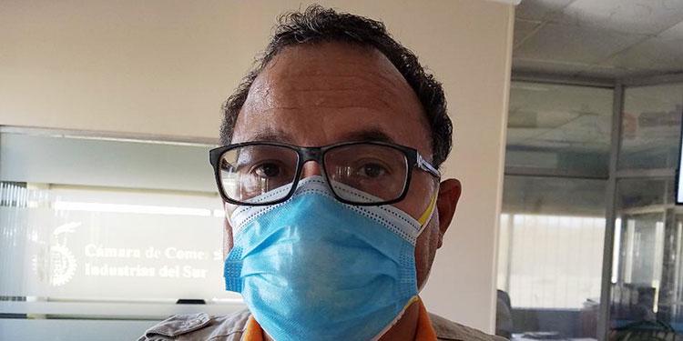 Duglas Avelar, epidemiólogo de Salud.