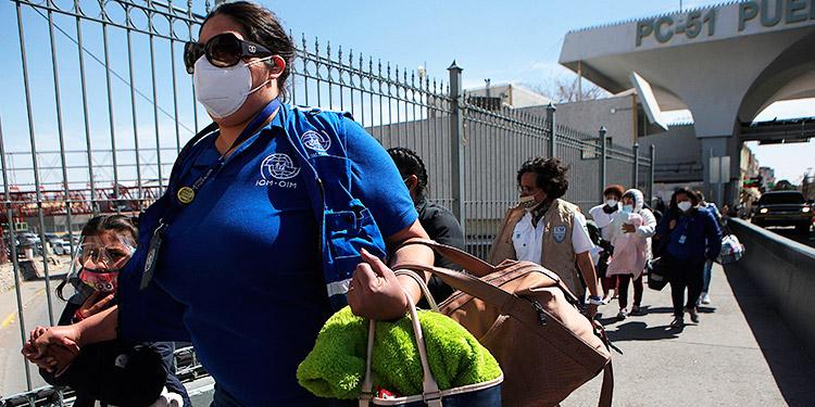 HRW detecta extorsiones y secuestros de migrantes en la frontera México-EEUU
