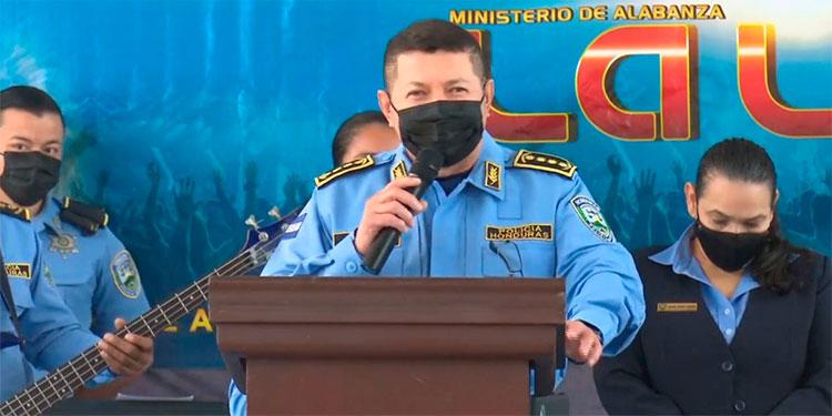 """Comisionado Maradiaga: """"Ser sinceros con Dios, hace que el actúe y haga el milagro"""""""