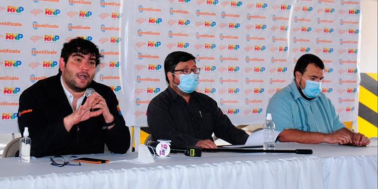 Los comisionados del RNP mediante conferencia de prensa informaron que ya se encuentran en un proceso de investigación con las autoridades competentes.