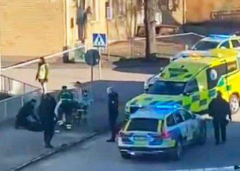 Ocho heridos en aparente ataque terrorista en Suecia