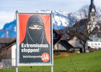 Suizos a favor de prohibir que la gente se cubra el rostro