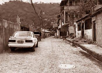 1   Una de las calles del Barrio El Manchen