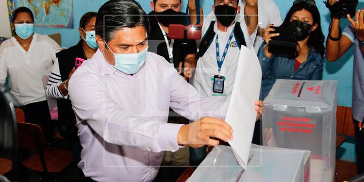 Wilfredo Méndez: esperamos al final del día aplaudir este proceso electoral