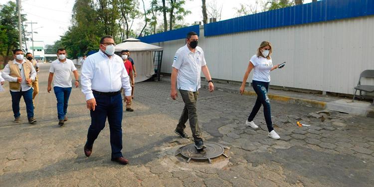 Para seguridad del pueblo hondureño, el veedor social le manifestó al ministro de Copeco que el Fonac va a acompañar a la administración del hospital.
