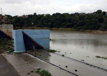 10.5 millones de metros cúbicos de agua tienen Los Laureles.