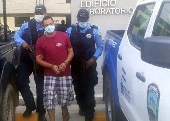 """Edwin Adalid Barrientos Vallecillo alias """"El Coquero""""."""