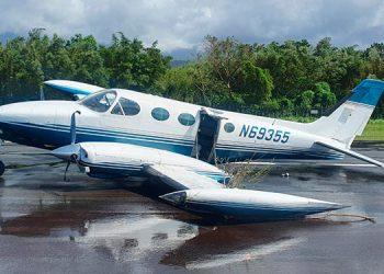 Afortunadamente, la aeronave aterrizó sin mayores complicaciones en La Ceiba.