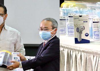 La donación de la embajada del Japón y el BID permitirá que los colegiales de 11 centros retornen a clases de forma segura.