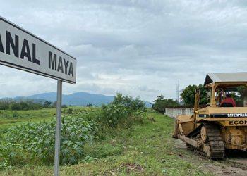 La reparación de bordos en el Canal Maya de La Lima tendrá como prioridad 9.5 kilómetros afectados por las tormentas.