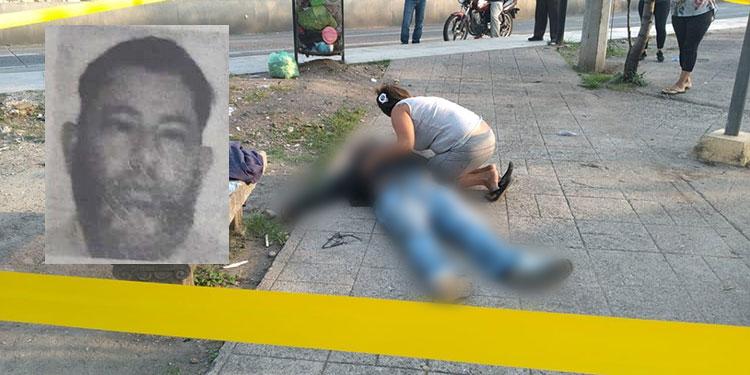 Franklin Alberto Rugamas Moncada (foto inserta) murió de manera indeterminada la mañana de ayer, cuando comenzaba su día de labores como taxista.