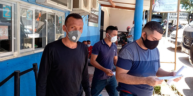 Nicaragua entregó a los hondureños que cumplían condenas por distintos delitos.