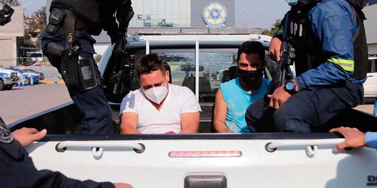 Los detenidos fueron puestos a la orden de la Fiscalía de turno para darle seguimiento al respectivo proceso judicial.