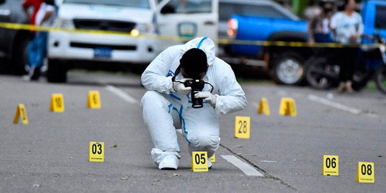 El 20.5 por ciento de los crímenes que se registran en Honduras son producto del crimen organizado.