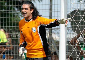 La última expulsión de Diego Vázquez como portero del Deportes Savio