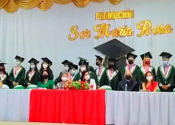 Esta es la novena promoción del instituto.