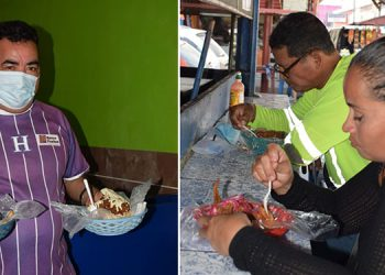 """El """"pollo chuco"""" es un producto bastante consumido en San Pedro Sula y por el momento está más cara su adquisición."""