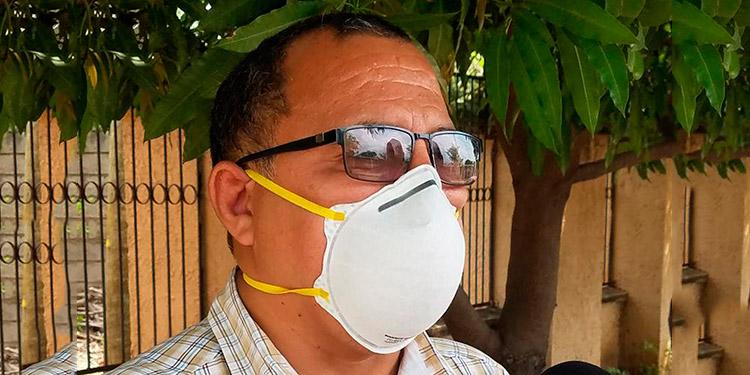Gustavo Avelar, subdirector del Hospital General del Sur.
