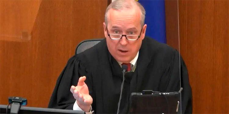 El juez Peter Cahill que ha estado a cargo del juicio sobre la muerte de George Floyd.