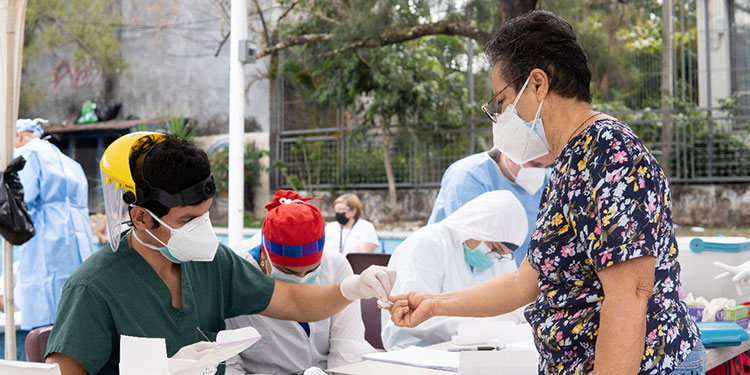 El departamento de La Paz reporta 5,643 casos positivos de COVID-19.