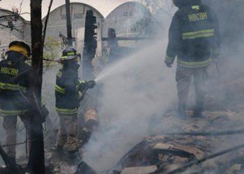 Después se supo que el incendio se originó supuestamente porque unas personas comenzaron a quemar una zacatera sin las medidas de prevención correspondientes.