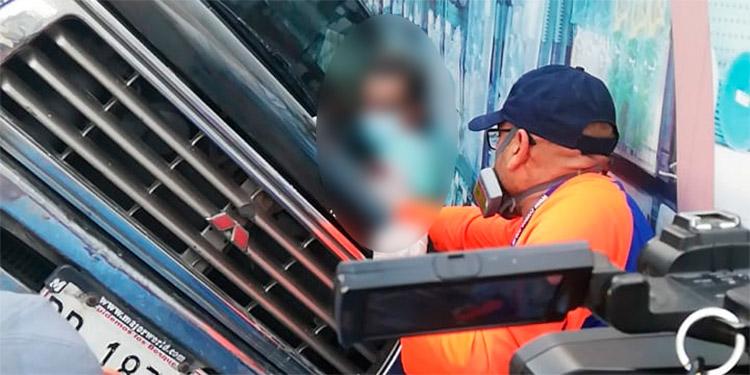 Como Juan Ramón Bustillo fue identificado el conductor de la grúa fallecido hoy en San Pedro Sula.
